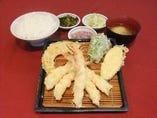 ◆エビ盛合定食◆
