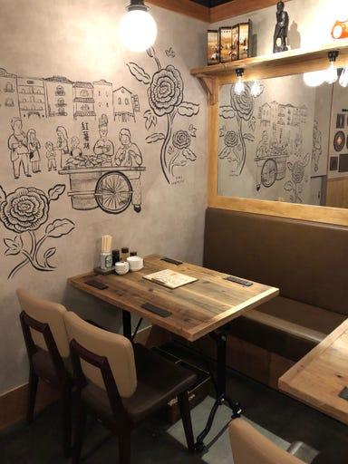 高橋と餃子  店内の画像