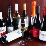 メニューにないワインも多彩に取り揃えております。