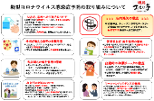 ◆新型コロナウイルスの感染予防対策