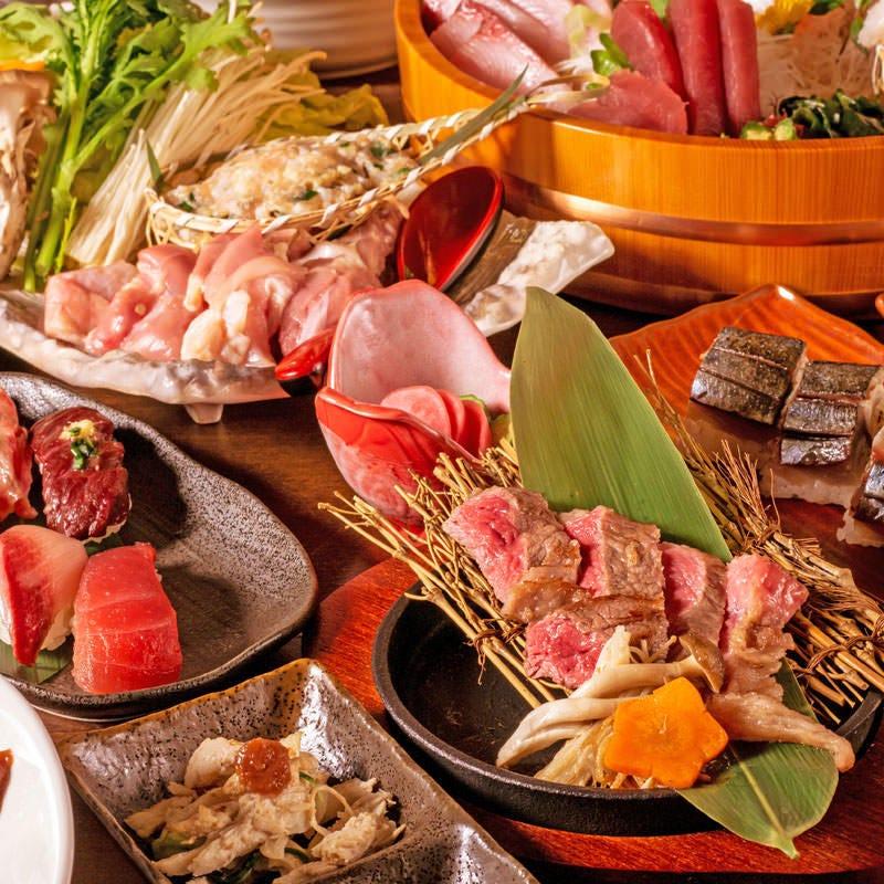 2名様~OK!お肉割烹として種類豊富なお肉料理をご提供。