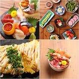 """北海道""""を満喫!毎日新鮮な鮮魚やお酒の肴をご提供♪"""