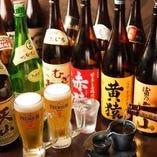 【種類が豊富な自慢の飲み放題♪お好きな一杯をどうぞ!】