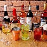 【お酒も豊富】 多彩なお酒の中から好みの一杯で乾杯を…