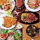 【各種宴会に】 自慢の洋食を楽しめるコースが盛りだくさん