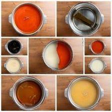 名物『2色鍋』7種から2種チョイス!