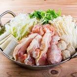 たっぷりネギの鶏塩鍋