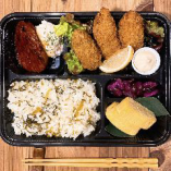 広島県産大粒牡蠣フライ弁当