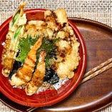 居酒屋ならではの天ぷら丼