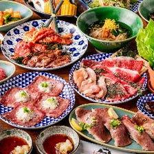 肉寿司なども楽しめるご宴会コース
