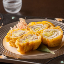 太刀魚の葱巻天麩羅
