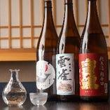 料理の旨みを引き立てる厳選日本酒