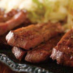 ぶつ切り牛タン焼