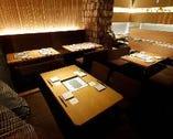 テーブル席・掘り炬燵お座敷席・カウンター席・個室席。2名様~最大宴会20名様迄!