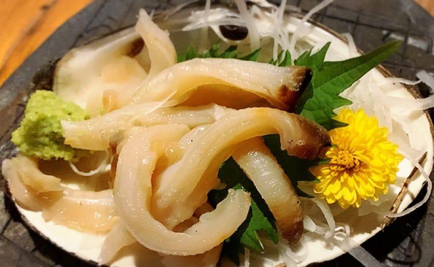 日替わりのおススメ 【本ミル貝のお刺身】