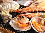 海鮮魚醤盛り