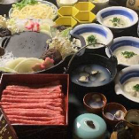 【平日2組限定】知多牛『響』すき焼きコース。 特別価格5,000円