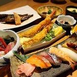 【握り寿司コース】 3000円、3500円、4500円をご用意しております。