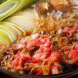 6種から選べるお鍋♪すきしゃぶや火鍋、白湯など