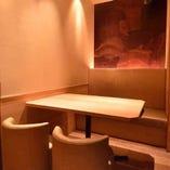 【少人数個室】 2~6名様用/テーブルのドア付き完全個室