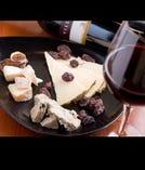 スペイン・チーズの盛り合わせ