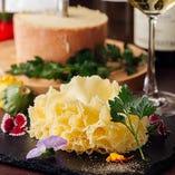 お花のチーズ