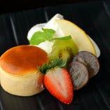 大山牧場のチーズケーキ