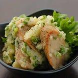 88屋のポテサラ (日本初・元祖魚肉ソーセージ仕様)