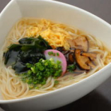 半田素麺の田舎風仕立て(温)【徳島】