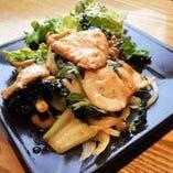 高知 四万十豚と野菜の味噌焼き