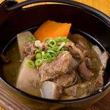 88屋特製牛すじ&野菜の味噌煮込み