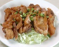 鶏の香味ソースかけ定食