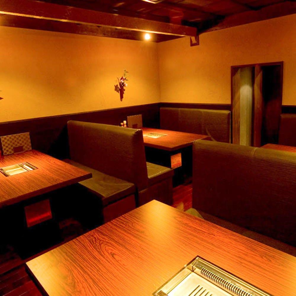 会社宴会や接待に◎個室席を完備!