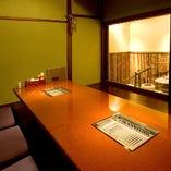 ■焼肉とオモニ料理 李休 くつろぎの完全個室席■