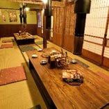 【2階】お座敷席半個室(~14名様×4部屋)