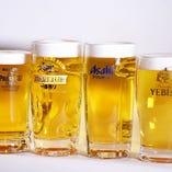 日本4メーカ 生ビール