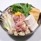 人気の 鶏塩ちゃんこ鍋 〆のちゃんぽん麺は絶品です