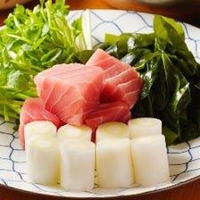 希少な江戸料理『ねぎま鍋』