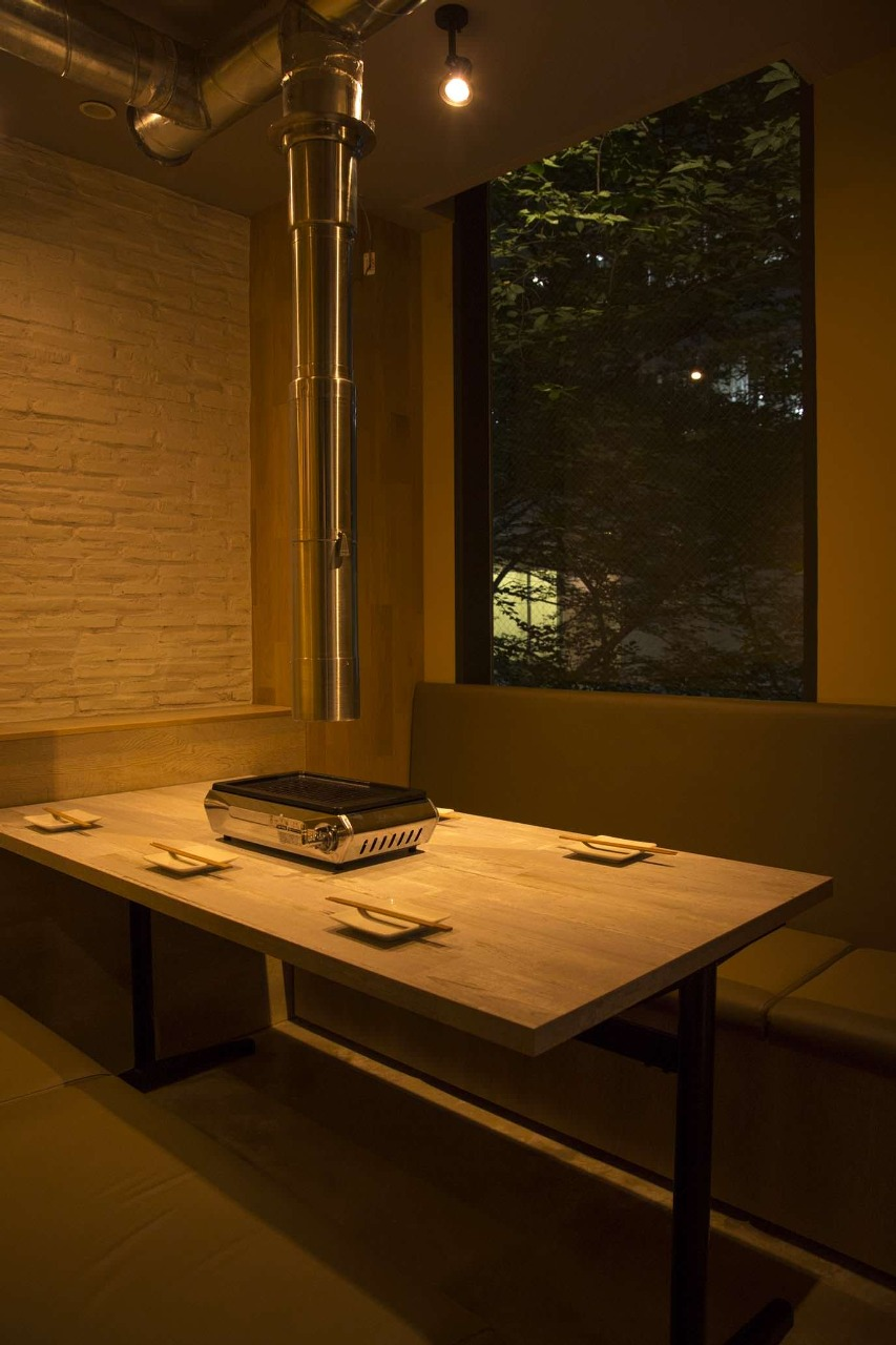 2部屋限定の完全個室完備