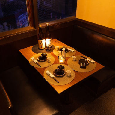 個室 地鶏炭焼 武蔵 綱島店  店内の画像