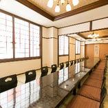 【2階座敷個室/40名様まで】広々大広間!同窓会など大人数宴会もお任せください