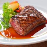 【ご褒美ディナー】 上質牛ステーキを堪能できるコースも多数♪