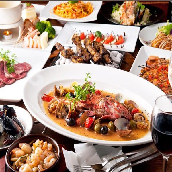 魅力あふれる創作地中海料理を♪