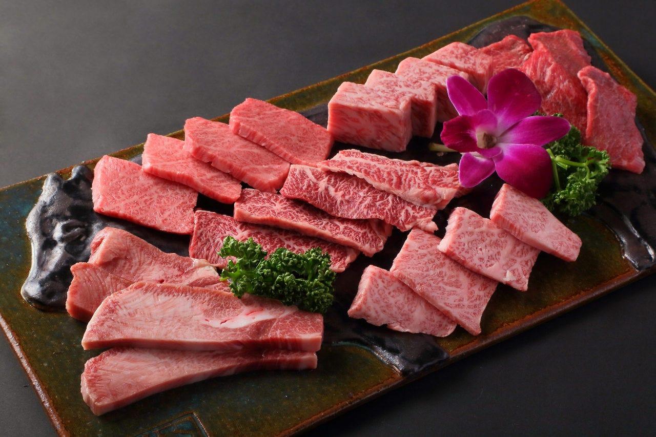 宮崎牛特選一頭盛り合わせ(6種類のお肉盛合せ)
