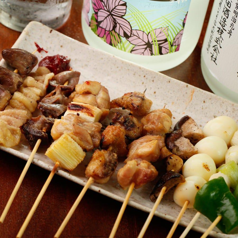 渋谷で焼き鳥食べ放題!
