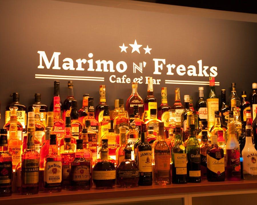 世界各国のお酒◎120種以上取り揃え