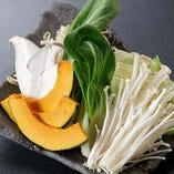 野菜盛合せ/600円(税抜)