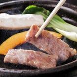 宴会・接待シーンには、特選ロースステーキ&自慢の食材でお届けするコースメニューがおすすめ!