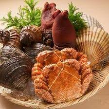 【新鮮魚介】北海道の『美味い』を。