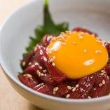 會津馬肉を部位種類豊富に揃えてます。